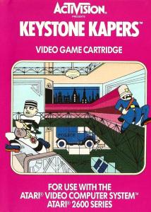 Keystone Kapers Atari 2600 Box Art