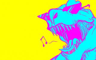 Ben Prunty Albums Chromatic T-Rex Banner
