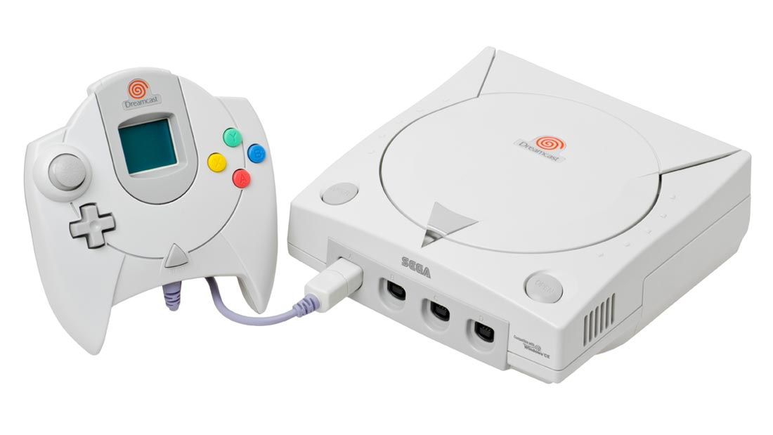 Sega Dreamcast Console and Controller
