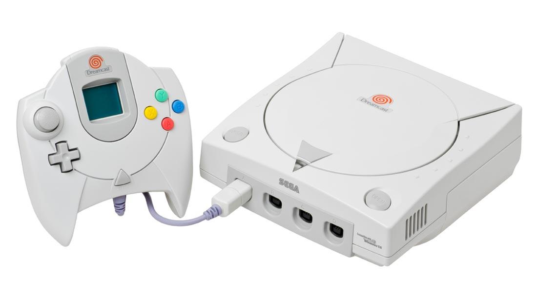 Sega Dreamcast Console and Controller