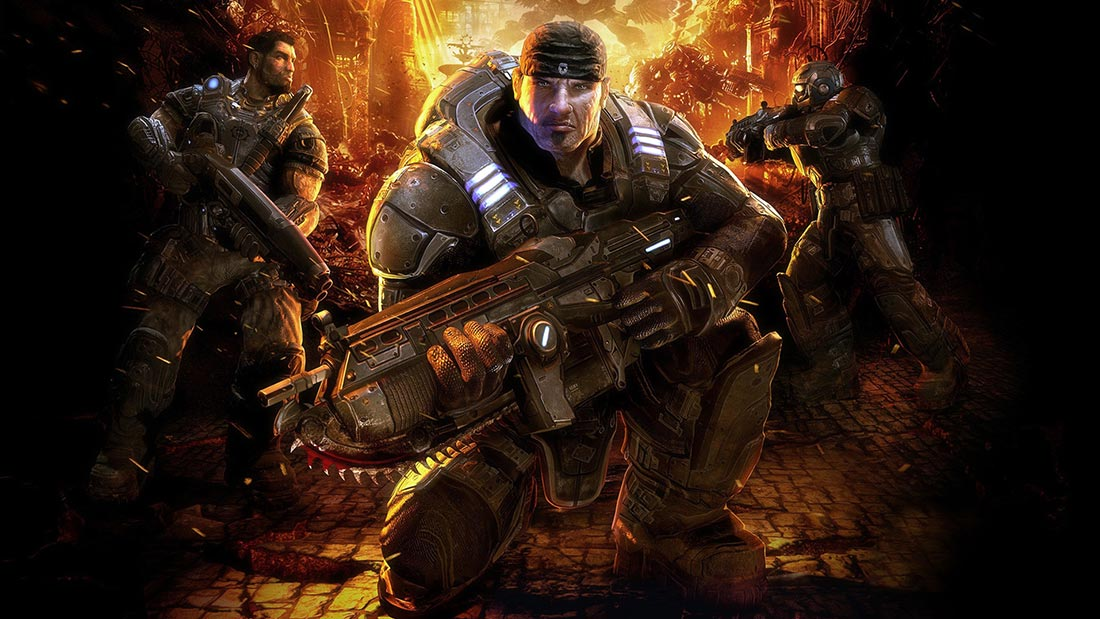 Gears of War 1 Artwork Banner