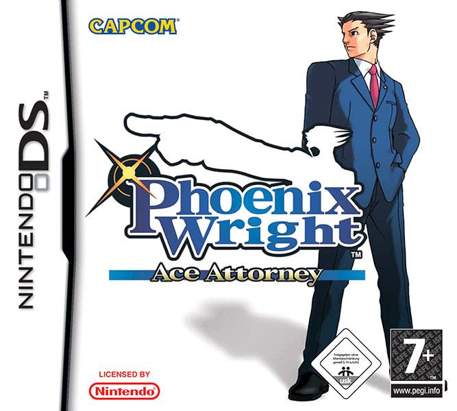 Phoenix Wright: Ace Attorney Nintendo DS PAL Box Art