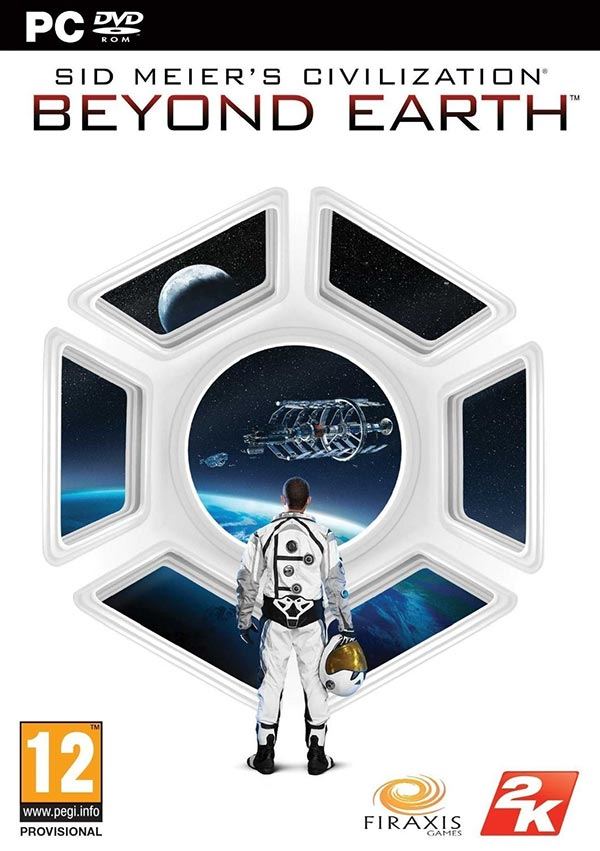 Civilization: Beyond Earth PAL Box Art