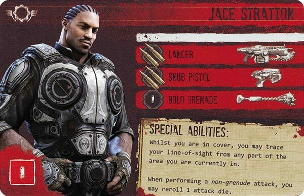 Gears of War The Board Game Custom COG Pack 2 Jace Stratton
