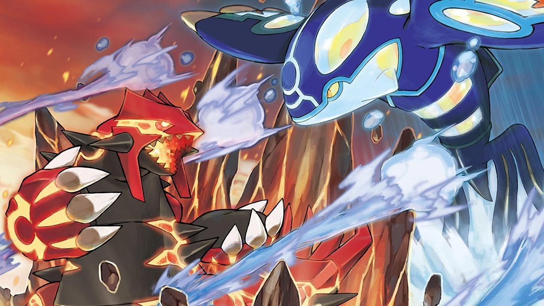 Pokemon Omega Ruby Alpha Sapphire Nintendo 3DS Artwork Banner