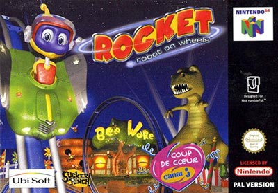 Rocket: Robot on Wheels (Nintendo 64)