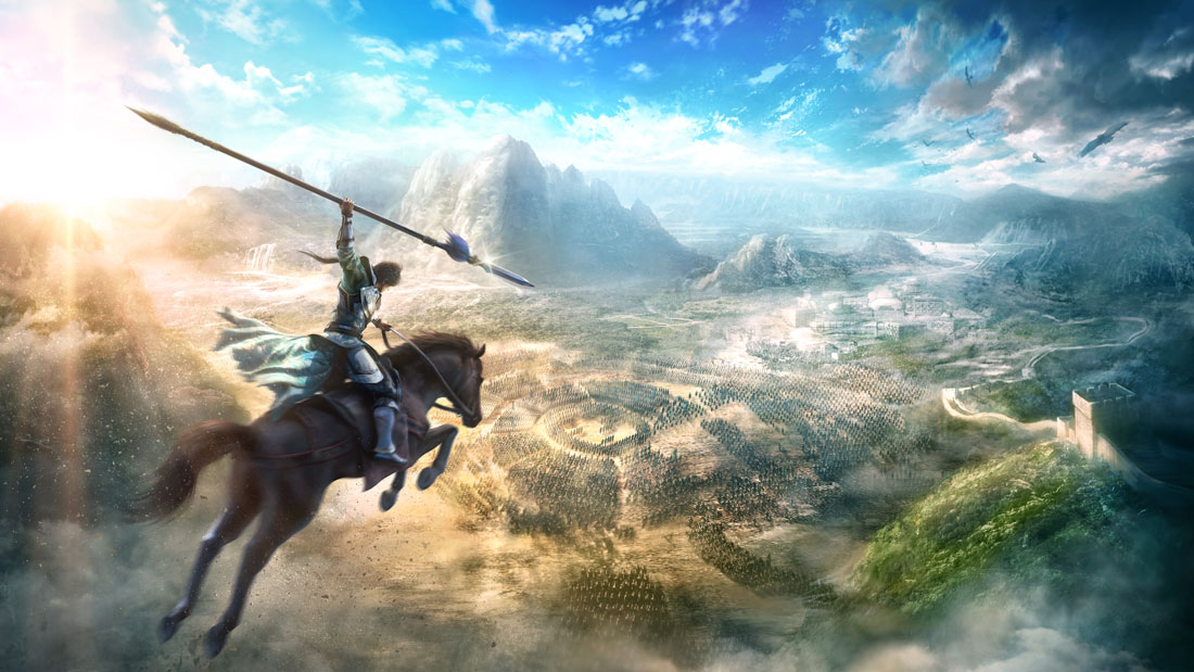 Dynasty Warriors 9 Artwork Banner