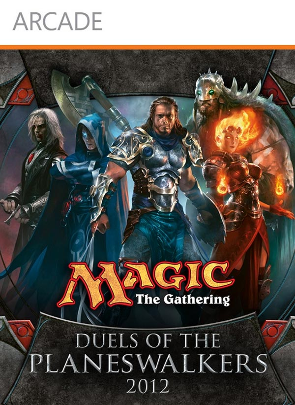 Magic 2012 Duels of the Planeswalkers Xbox 360 Box Art