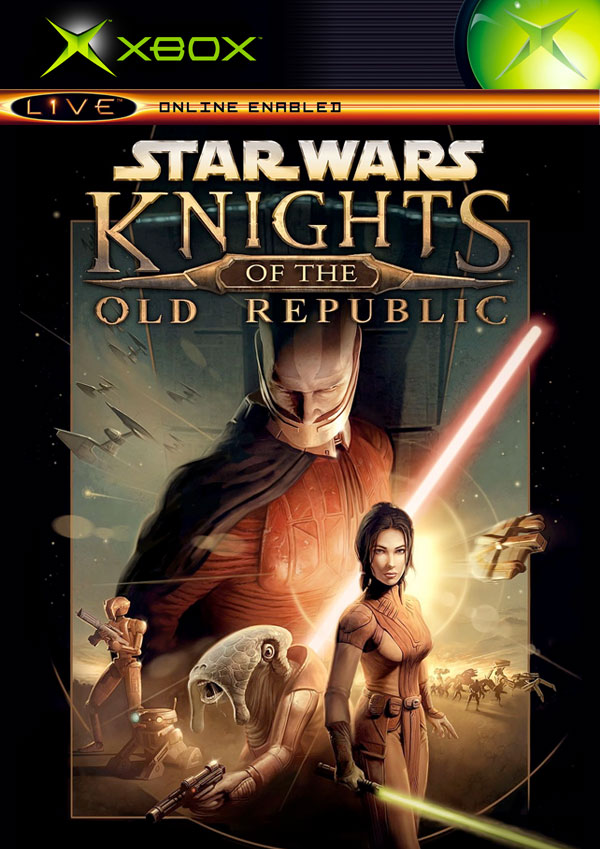 Star Wars: Knights of the Old Republic PAL Xbox cover
