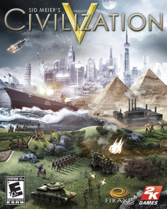 Civilization V NTSC-U Box Art
