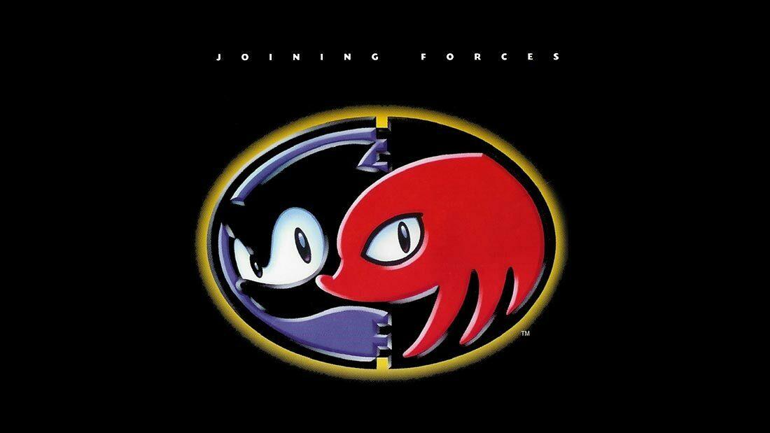 Sonic & Knuckles Logo Banner