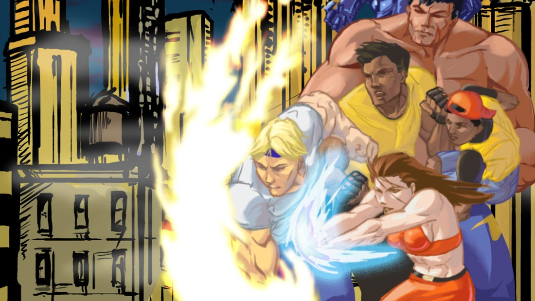 Streets of Rage Remake Artwork Banner