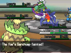 The battle system in Pokémon games is very luck-based, sadly.