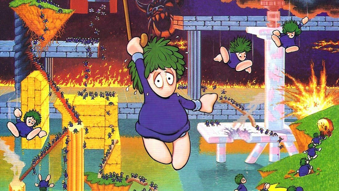 Oh No More Lemmings Artwork Banner