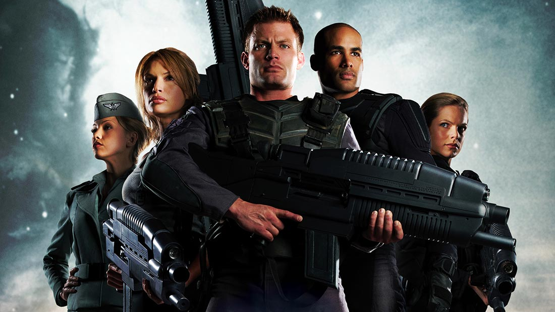 Starship Troopers 3 Movie Banner