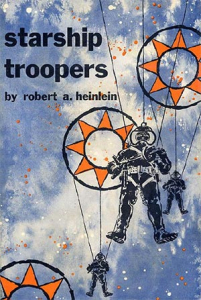 The first edition of Starship Troopers.