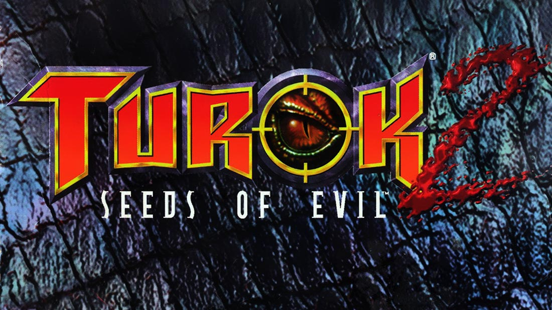 Turok 2: Seeds of Evil Logo Banner
