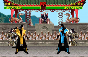 Scorpion and Sub-Zero have always been series favourites because of their 'free hit' special moves... And the fact that they're ninjas.