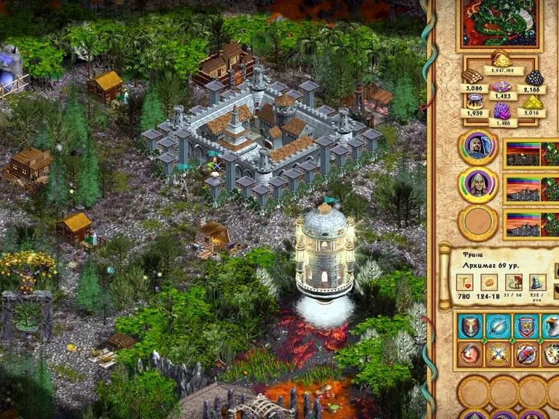скачать игру Heroes Of Might And Magic 4 через торрент на русском - фото 11