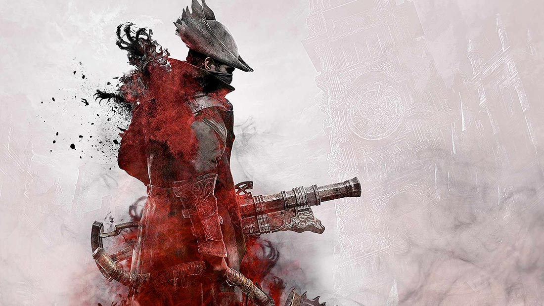 Bloodborne PS4 Artwork Banner