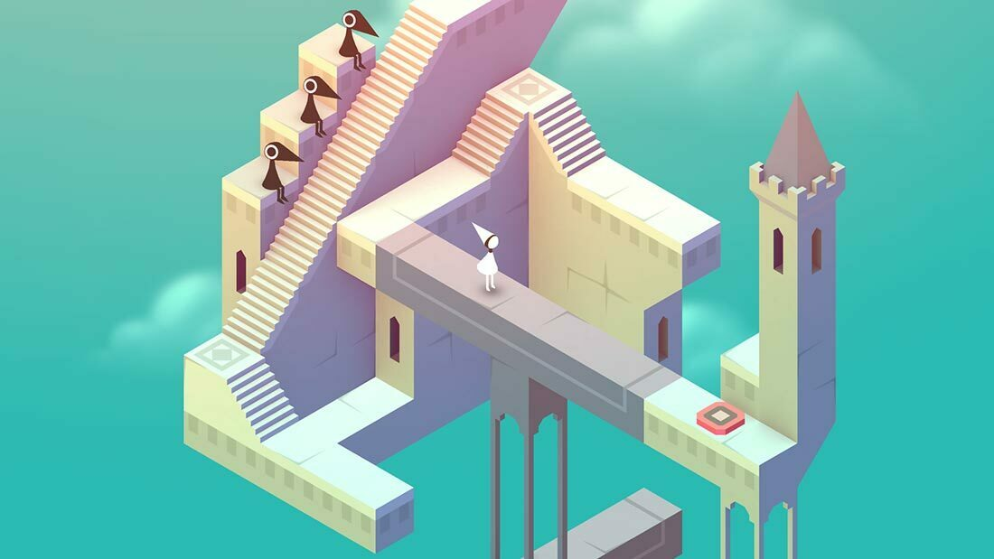 Monument Valley Review Artwork Banner