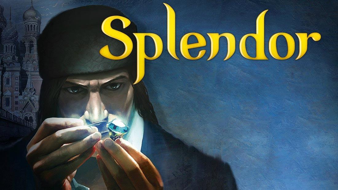 Splendor Board Game Artwork Banner