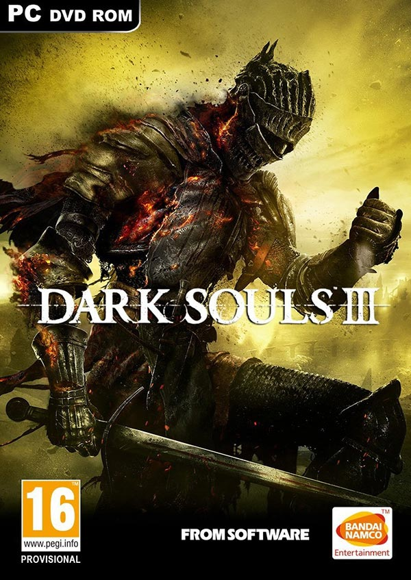 Dark Souls III PC PAL Box Art
