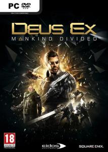 Deus Ex Mankind Divided PC PAL Box Art
