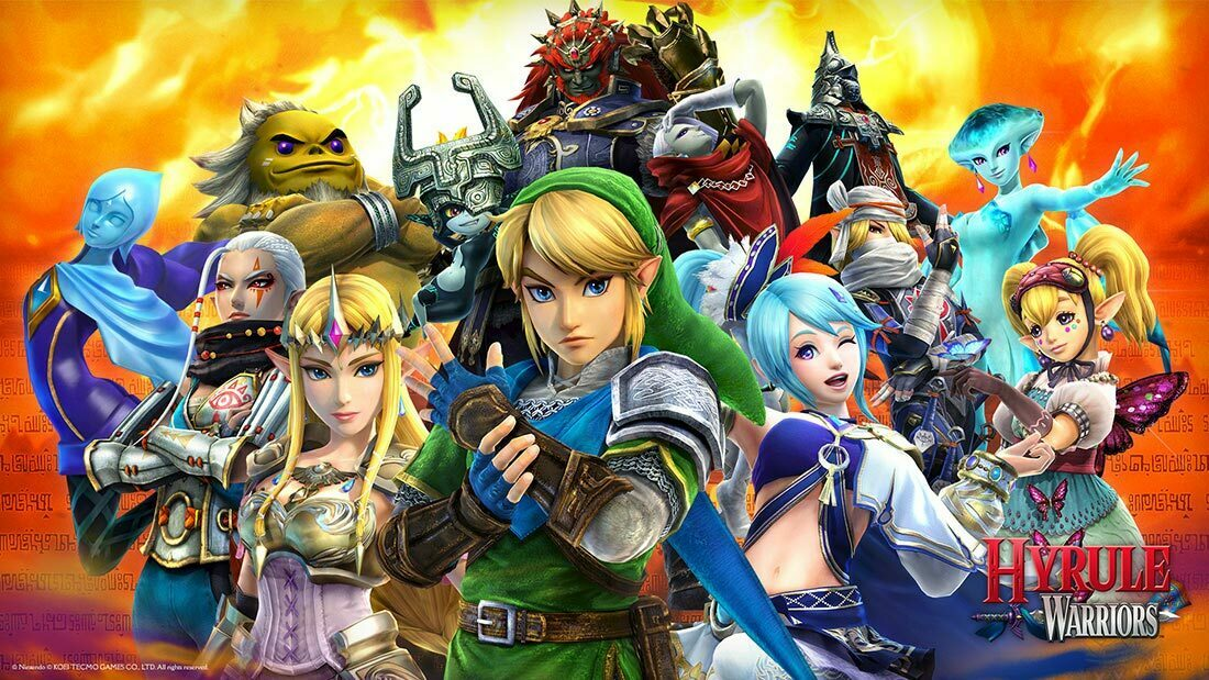 Hyrule Warriors Wii U Review Banner