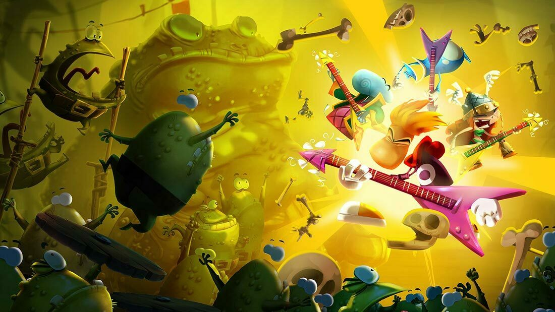 Rayman Legends Wii U Review Banner