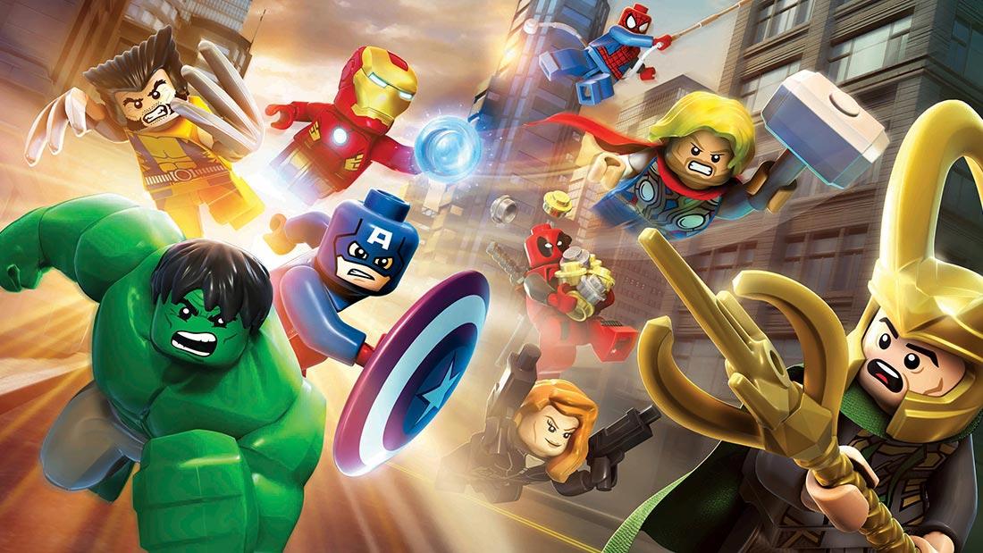 Lego Marvel Super Heroes Artwork Banner