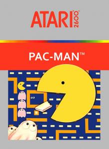 Pac-Man Atari 2600 Box Art