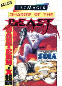 Shadow of the Beast Sega Master System Box Art