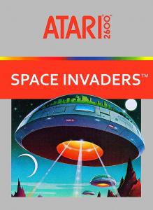 Space Invaders Atari 2600 Box Art