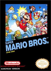 Super Mario Bros. NES Box Art
