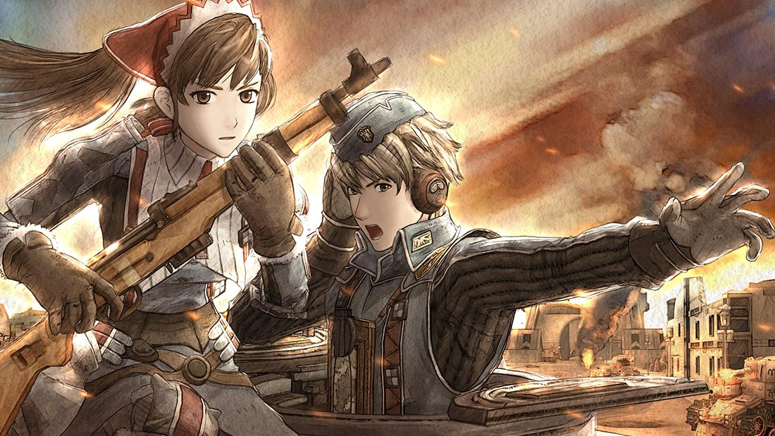 Valkyria Chronicles Review Artwork Banner