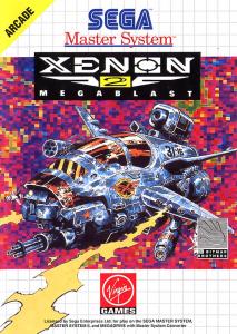 Xenon 2 Megablast Sega Master System Box Art