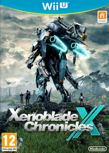 Xenoblade Chronicles X PAL Wii U Box Art.