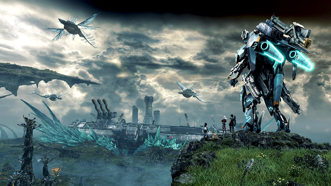 Xenoblade Chronicles X Wii U Artwork Banner