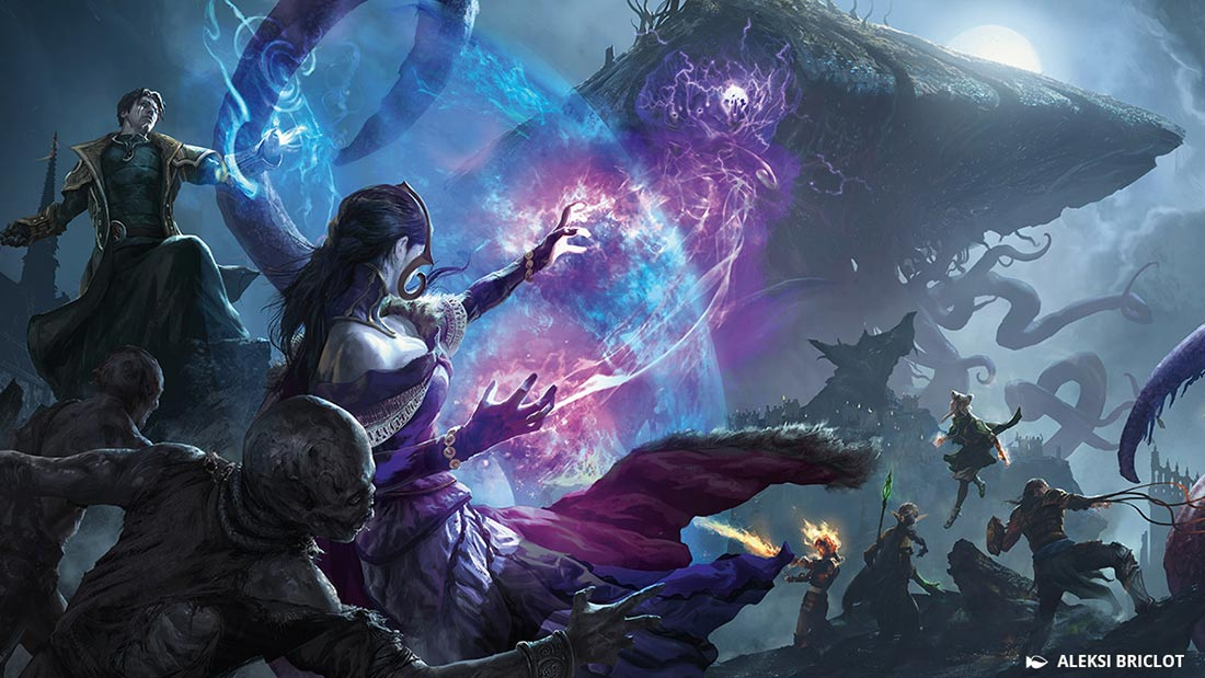 Magic Duels: Origins Eldritch Moon Artwork Banner