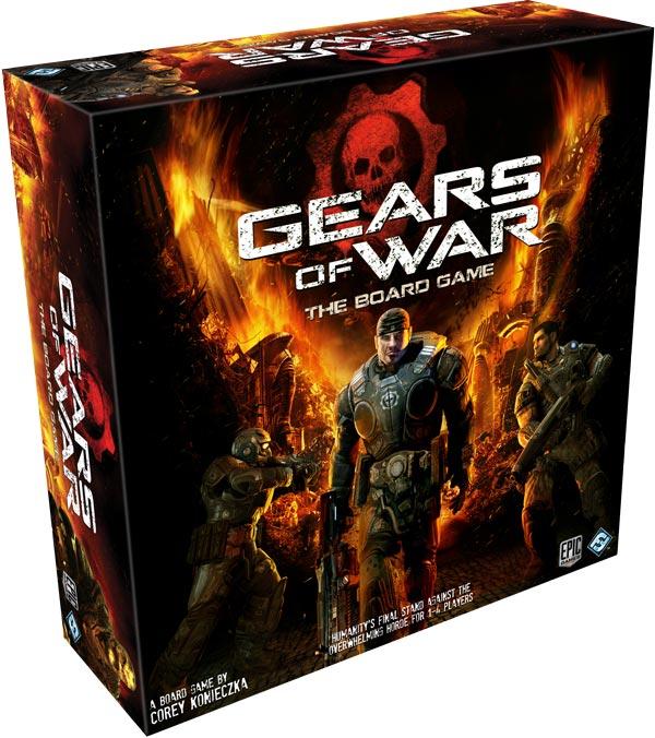 Gears of War: The Board Game Box