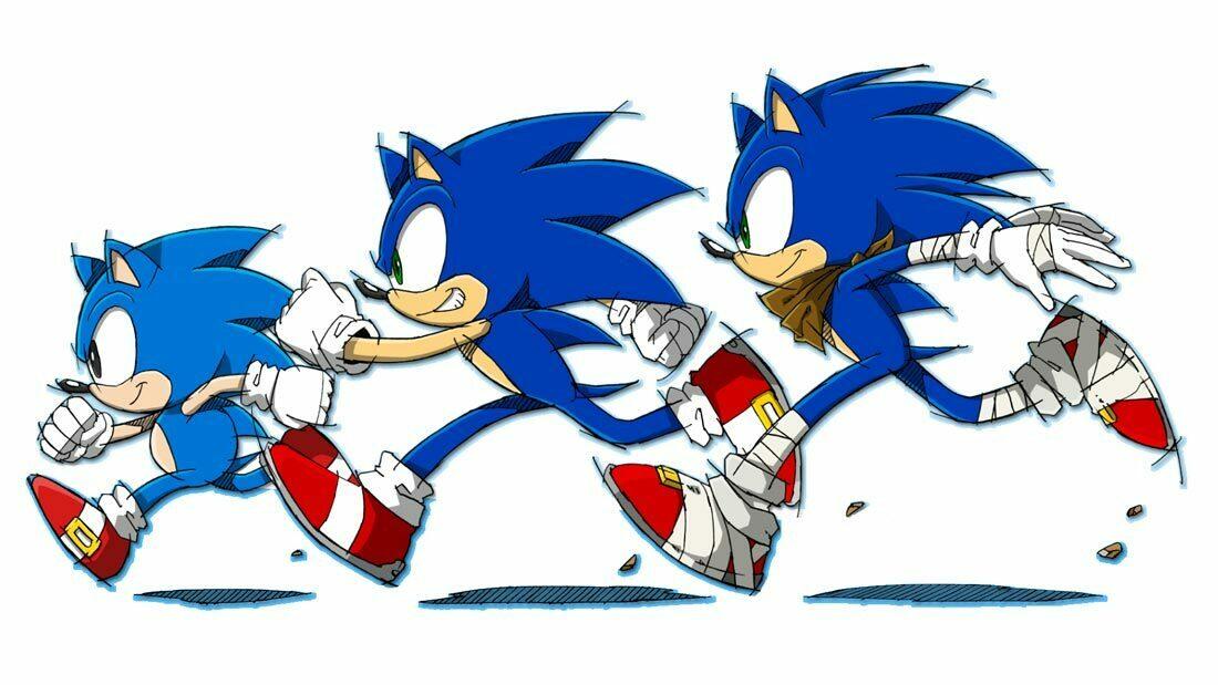 Nostalgia vs. Video Games Sonic Generations Artwork Banner