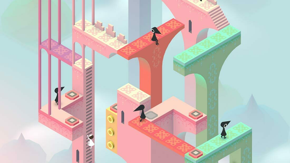 Monument Valley Forgotten Shores Review Artwork Banner