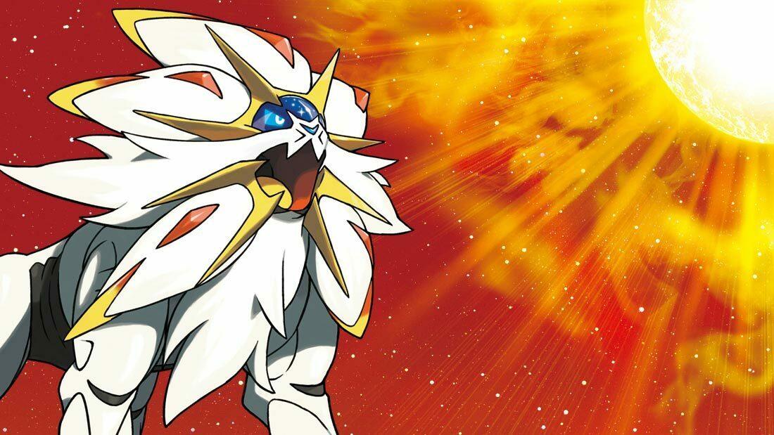 Pokémon Sun Solgaleo Artwork Banner