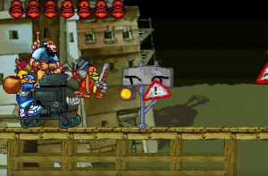 Three Dirty Dwarves Gameplay Screenshot
