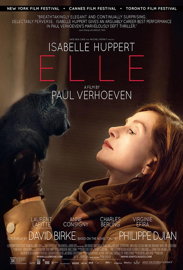 Elle Film Review Movie Poster