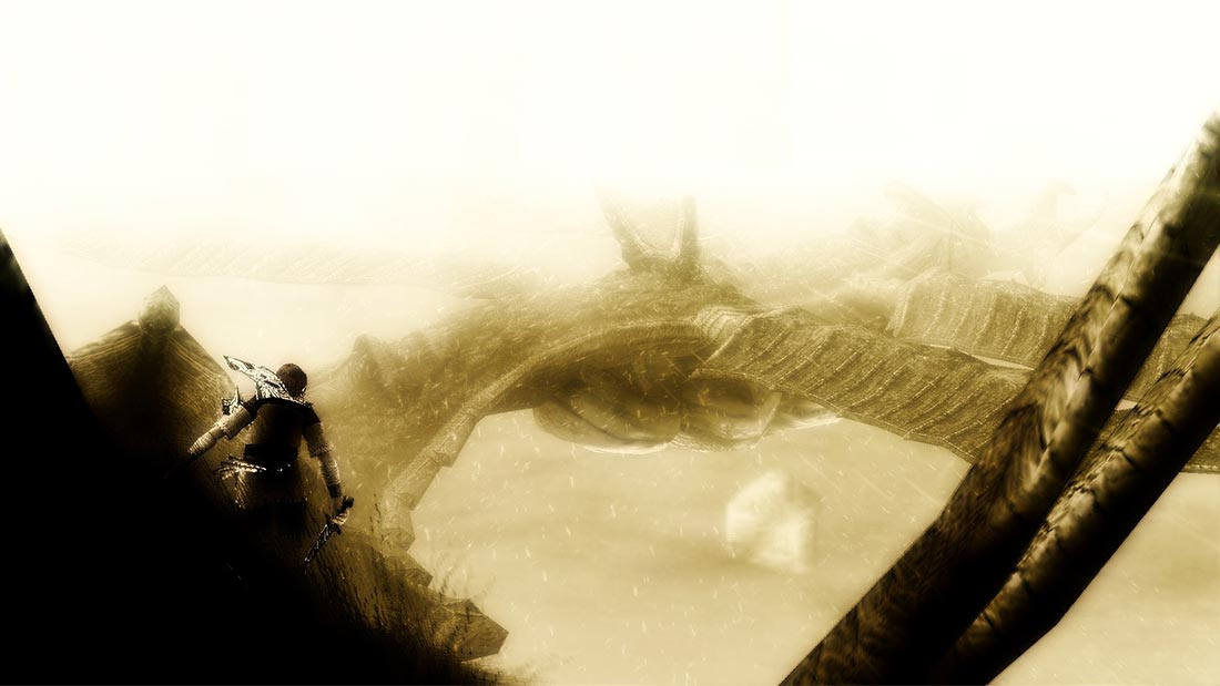 Best Video Game Bosses Shadow of the Colossus Artwork Banner