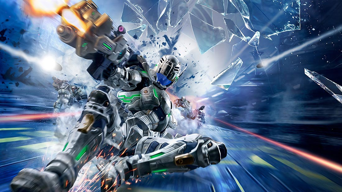 CelJaded Top 100 Video Game Bosses Vanquish Artwork Banner