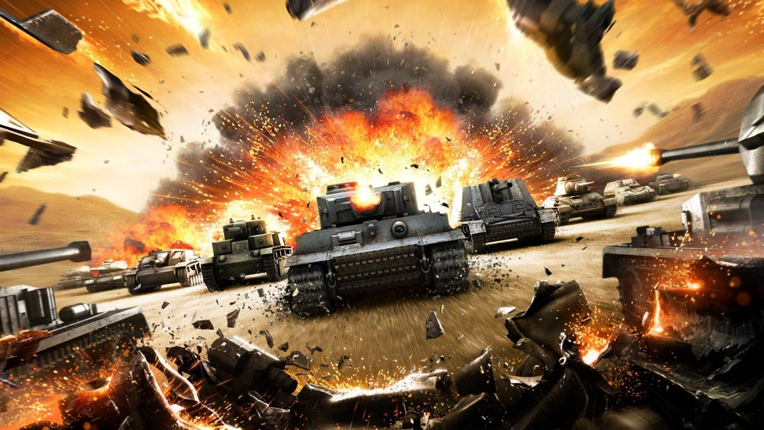 World of Tanks: Rush Review Artwork Banner