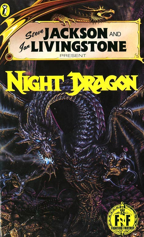 Fighting Fantasy #52 Night Dragon Book Cover
